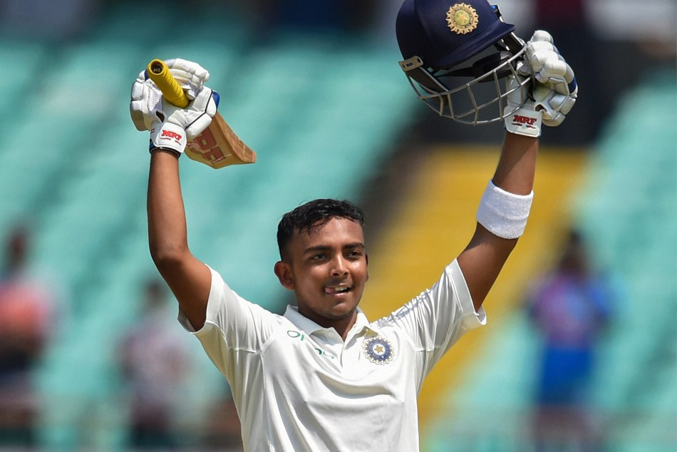 Prithvi Shaw Connection With With Gaya Bihar Makes Debut Ce