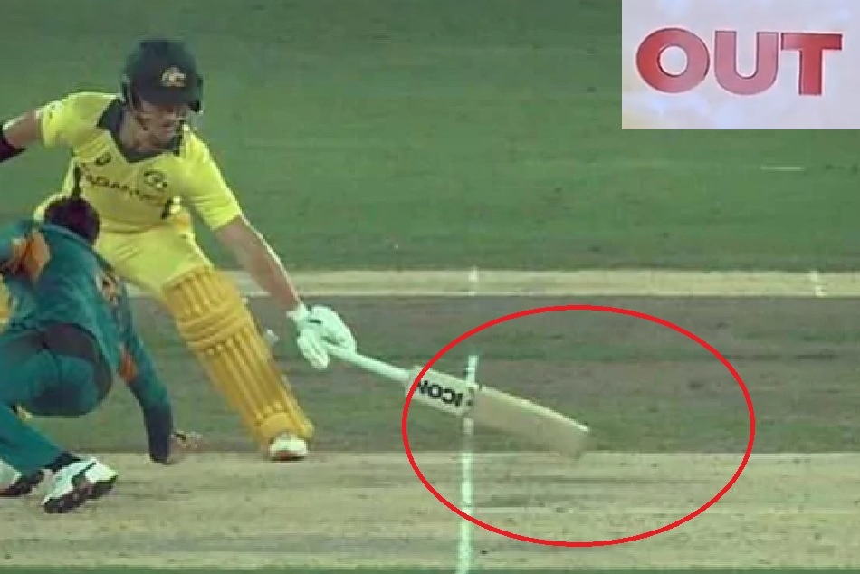 Darcy Short Controversial Run Out pakistan beat Australia