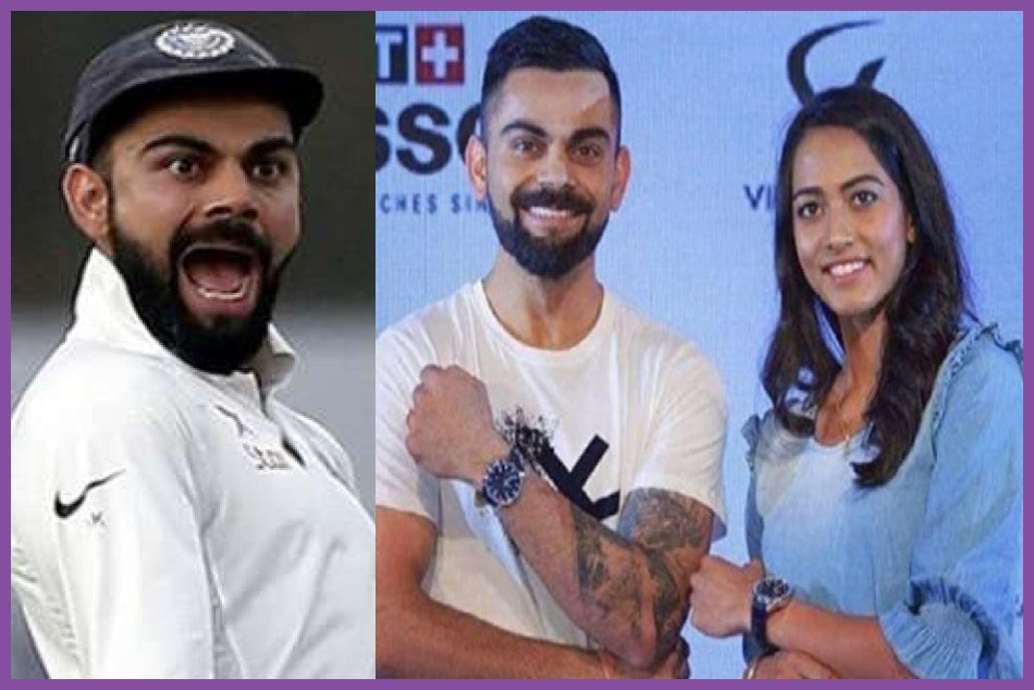 virat kohli trolled for looking taller than tennis star karman kaur