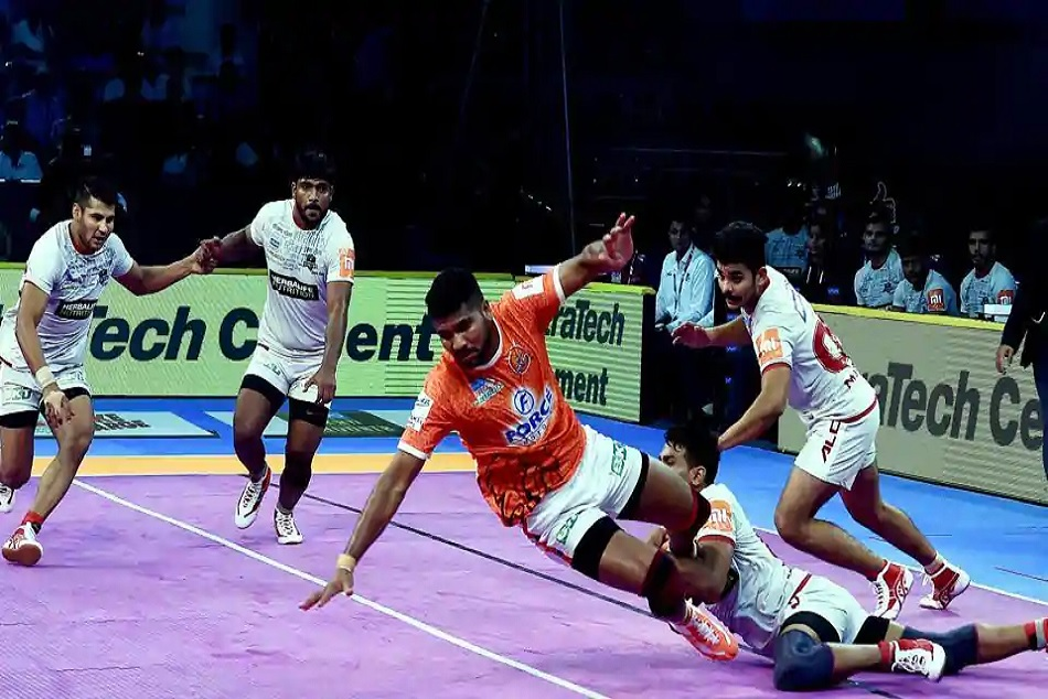 Pro Kabaddi 2018 Bengaluru Bulls Up Yodhha Won Their Matches