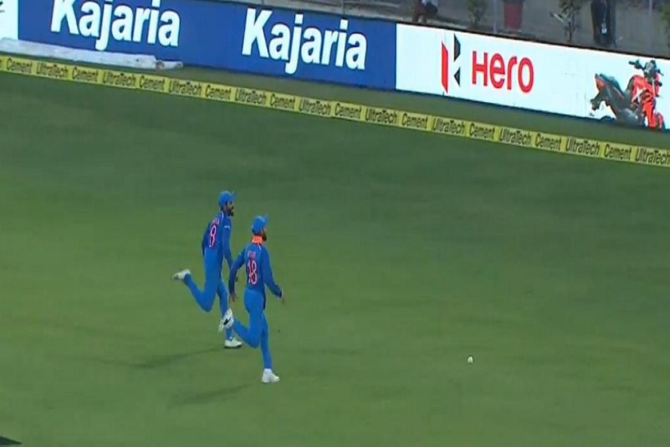 Video Kohli Jadeja Had An Interesting Ball Chase The Match Against West Indies