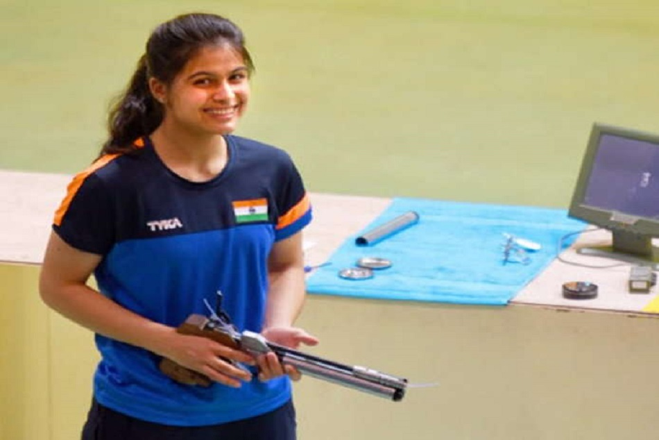 Manu Bhaker Be Flag Bearer Youth Olympics