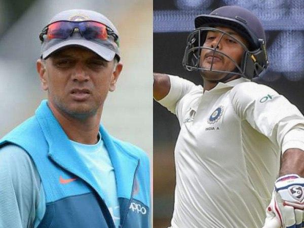 द्रविड़ बना रहे हैं टीम इंडिया की नई 'दीवार'