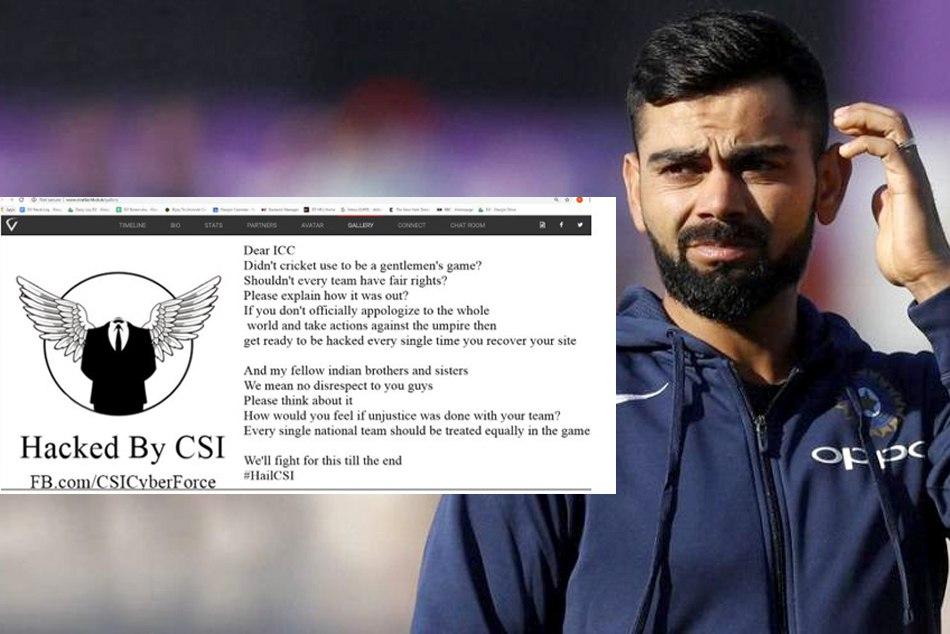 Asia Cup 2018 Virat Kohli Site Hacked Bangladeshi Hackers