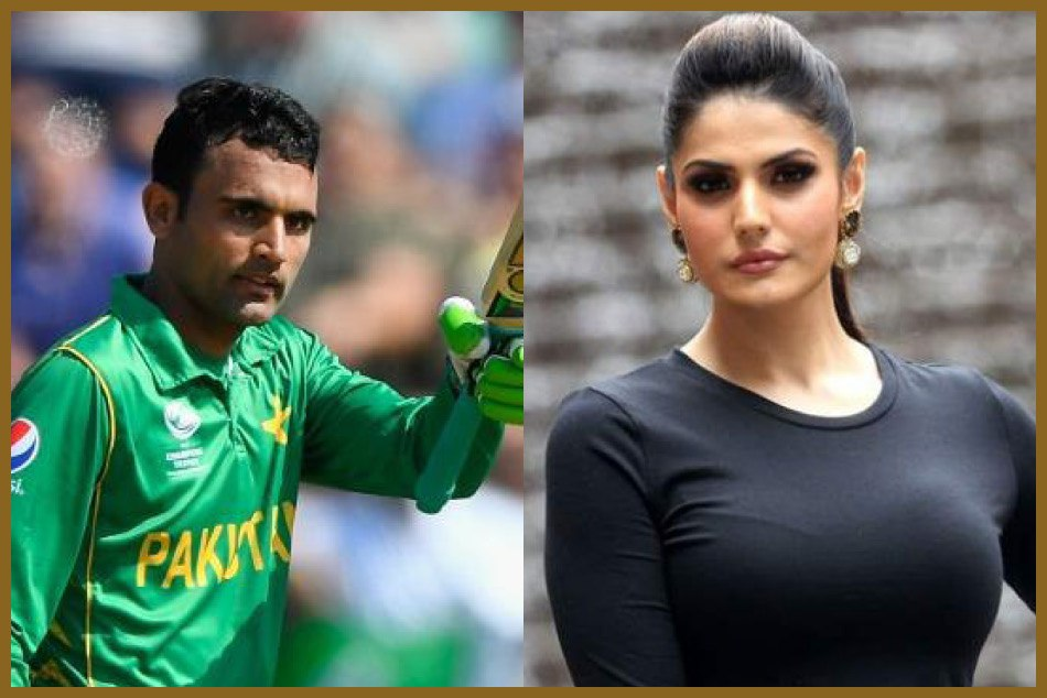 Pakistani Cricketer Fakhar Zaman Dating Bollywood Actress Zareen Khan