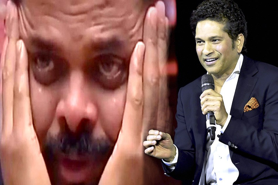 S Sreesanth Started Crying after remembering Sachin Tendulkar Incident