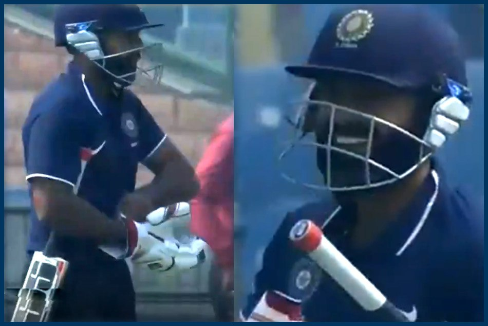 Deodhar Trophy 2018-19: Ankeet Bawne comes out to bat with only one glove