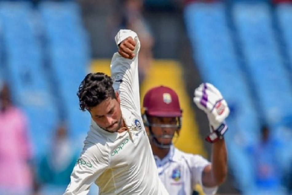 Kuldeep yadav takes 5 wickets against wi and makes great record