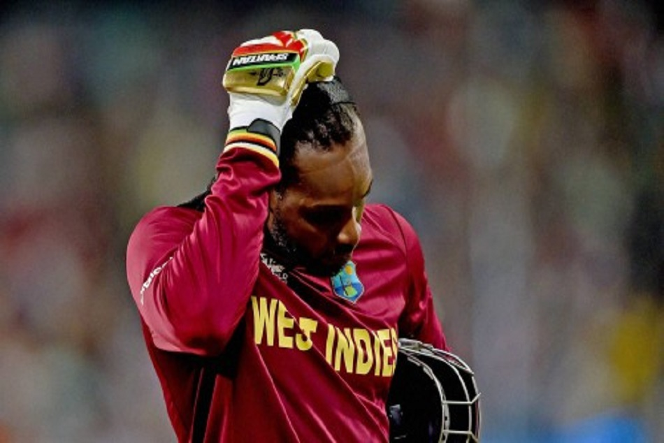 Chris gayle will not play against india bravo and pollard in team