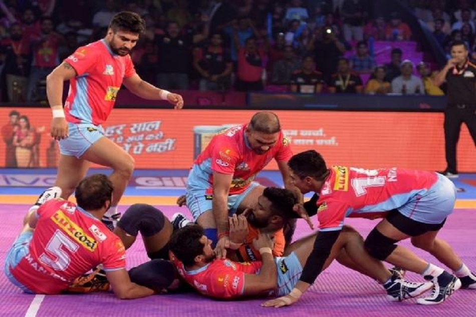 Pro Kabaddi League 2018 U Mumba Beats Pink Panthers