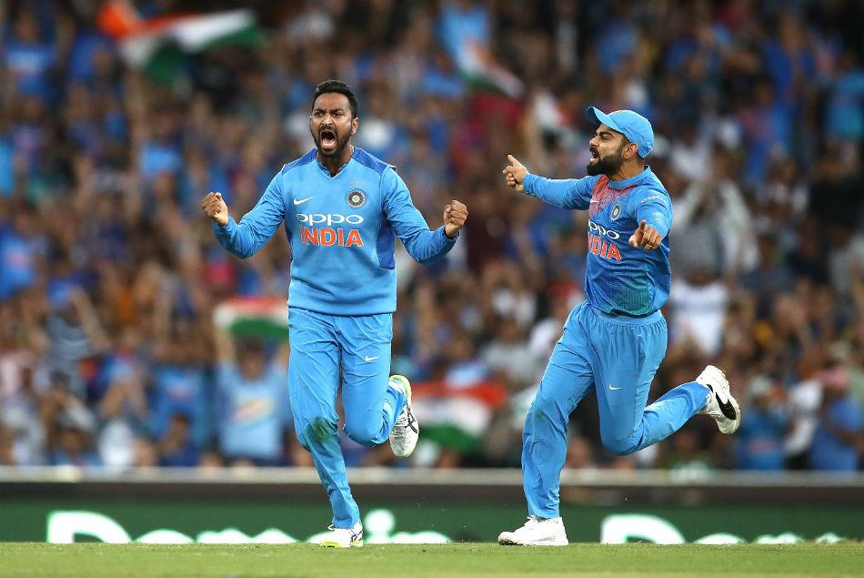 Australia Vs India 3rd T20 Krunal Pandya Got The Best Figures A Spinner