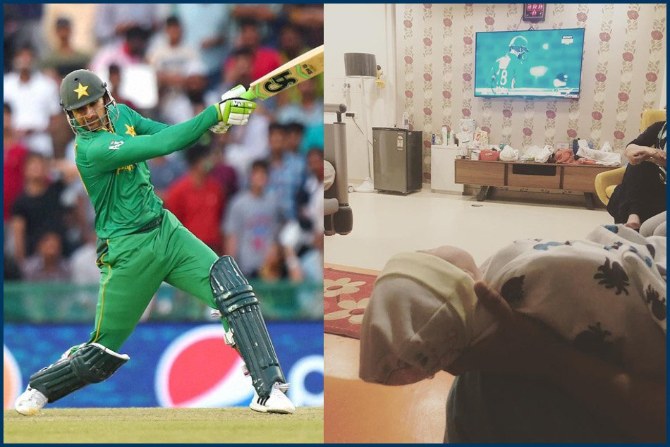 Sania Mirza Son Izhaan Watch Shoaib Malik S Cricket Match