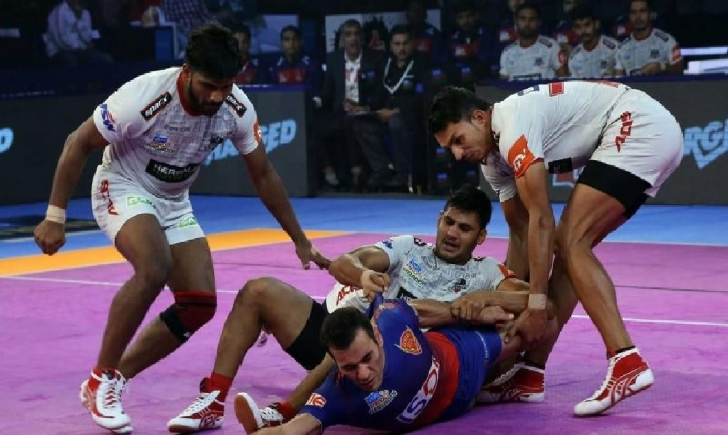 Dabang Delhi Defeated Haryana Steelers Pro Kabaddi League 2018
