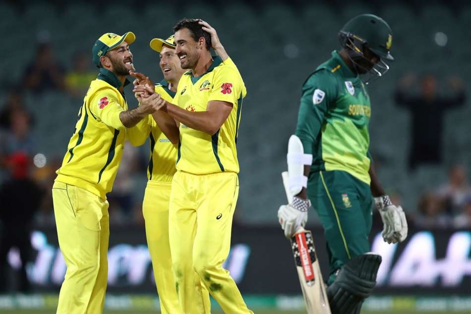 Australia break its long defeat period after winning the second one day against south africa