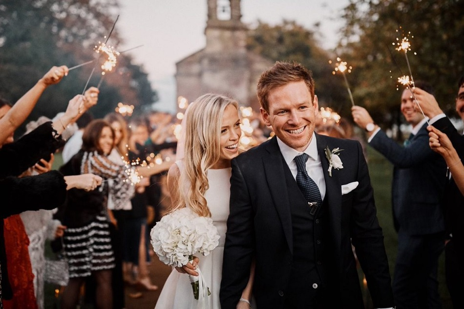 Eoin Morgan Ties The Knot With His Girlfriend Whom He Met During 2010 Ashes