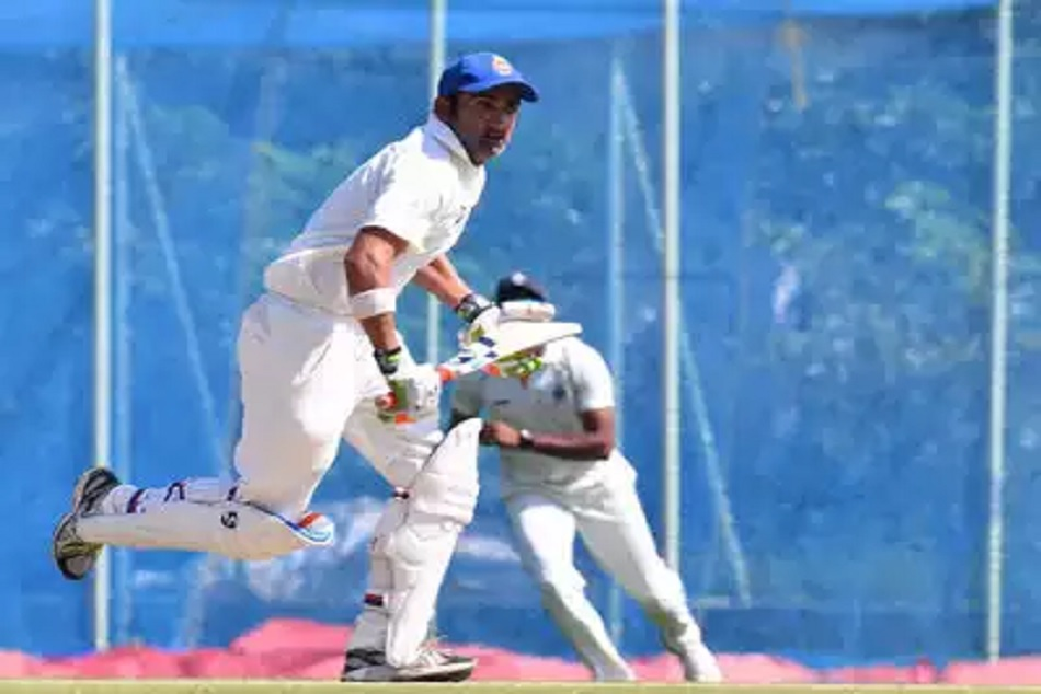 Watch Gautam Gambhir Infuriated After Umpire Gives Him Out