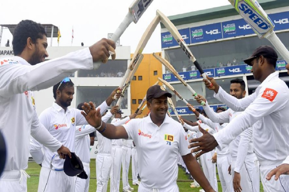 Rangana Herath Makes History Becomes The 3rd Test Bowler Pick 100 Wickets