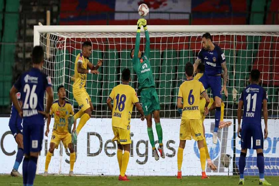 In Isl Season 5 Chennaiyin Fc Kerala Blasters Play Goalless Draw