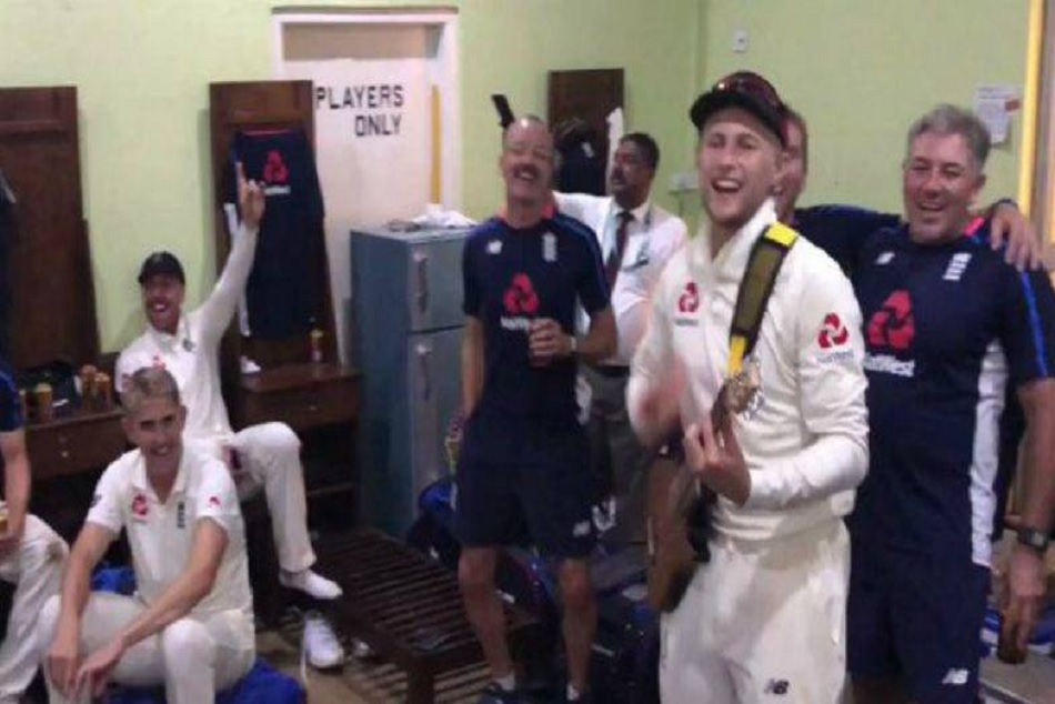 Joe Root Plays Guitar After The Comprehensive Clean Sweep Sri Lanka