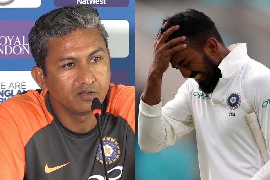Batting coach Sanjay Banger said KL rahul is not showing responsibility in batting