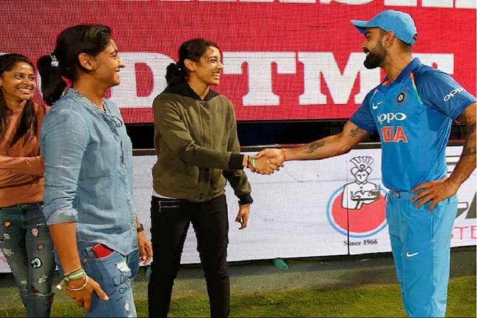 Virat Kohli Started Jerseyknowsnogender Campaign Support Indian Woman Cricket Team