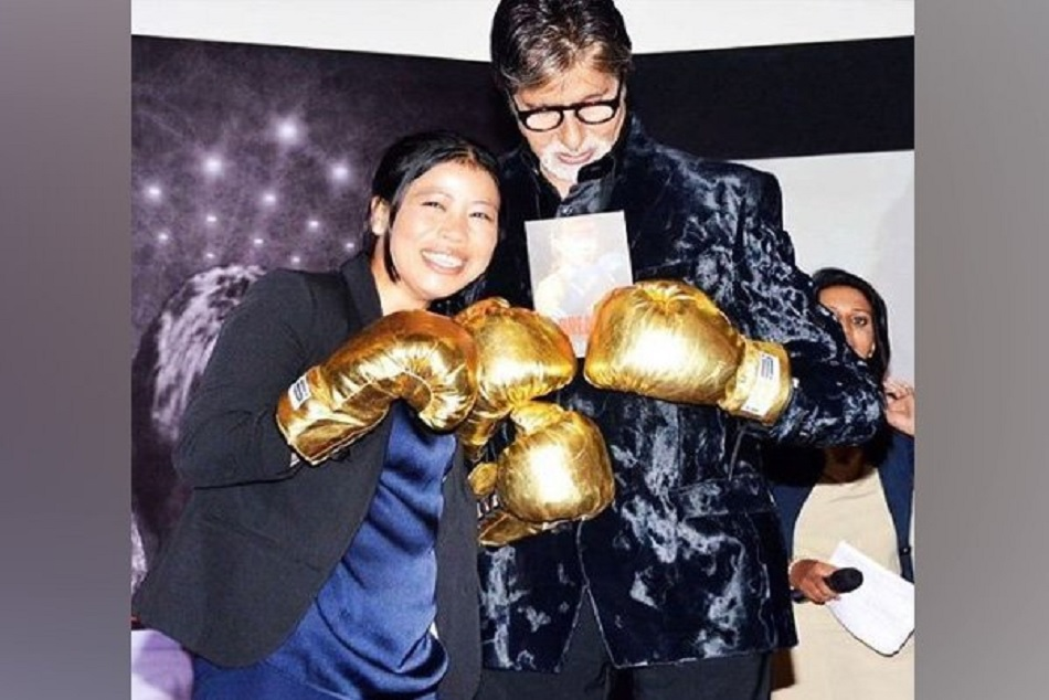 Amitabh bachhan congratulates Mary Kom on her victory