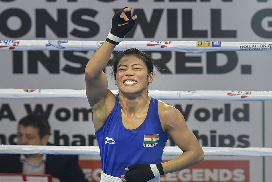 Mary kom won the semi final in world boxing championship