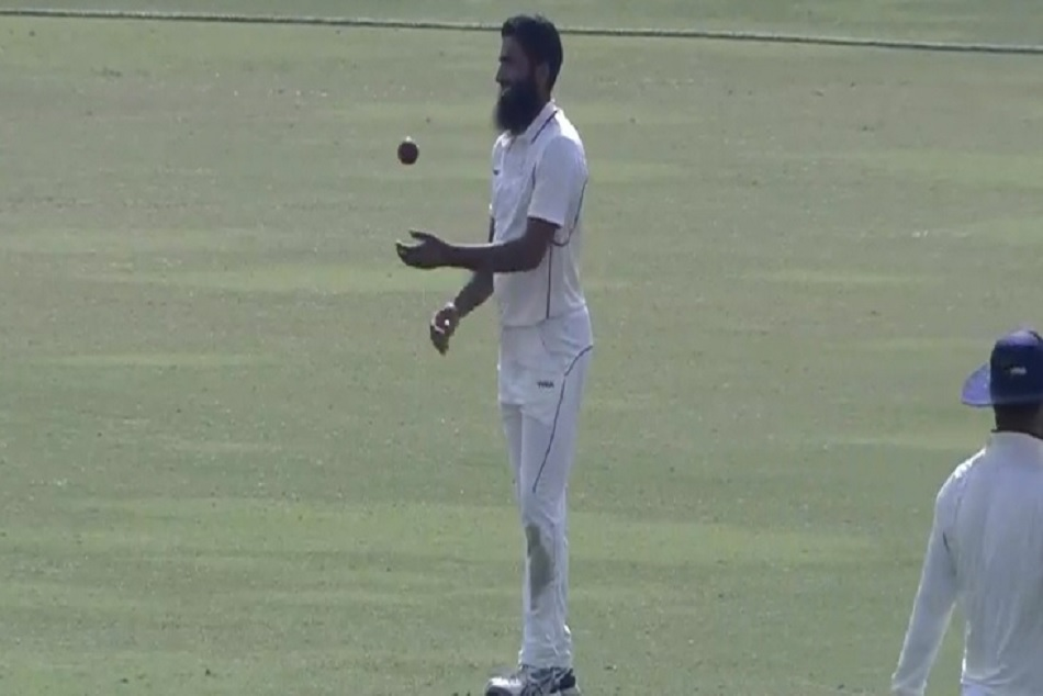 J K S Mohammed Mudhasir Claims 4 Wickets 4 Balls A Ranji Trophy