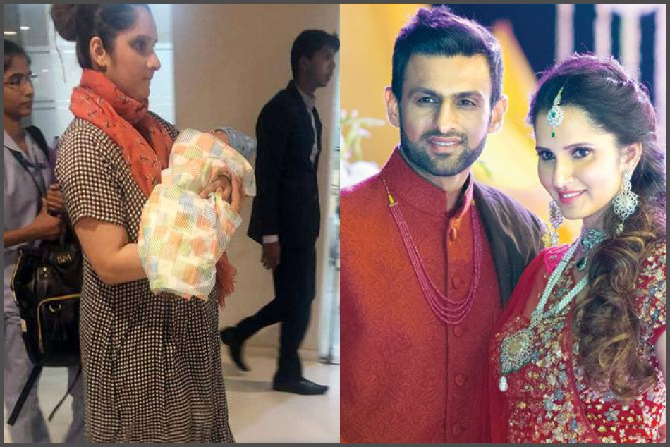 Tennis Star Sania Mirza With Her New Born Baby Pic Getting Viral