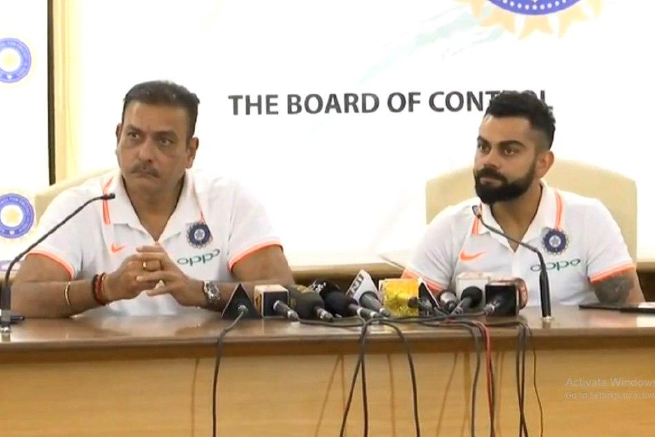 Virat Kohli Ravi Shastri Address The Media Before Leaving Australia Tour