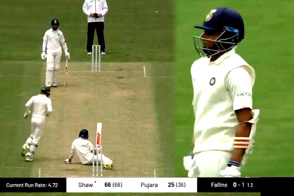 Prithvi Shah bowled by sharne warne style magical ball of daniel fallins