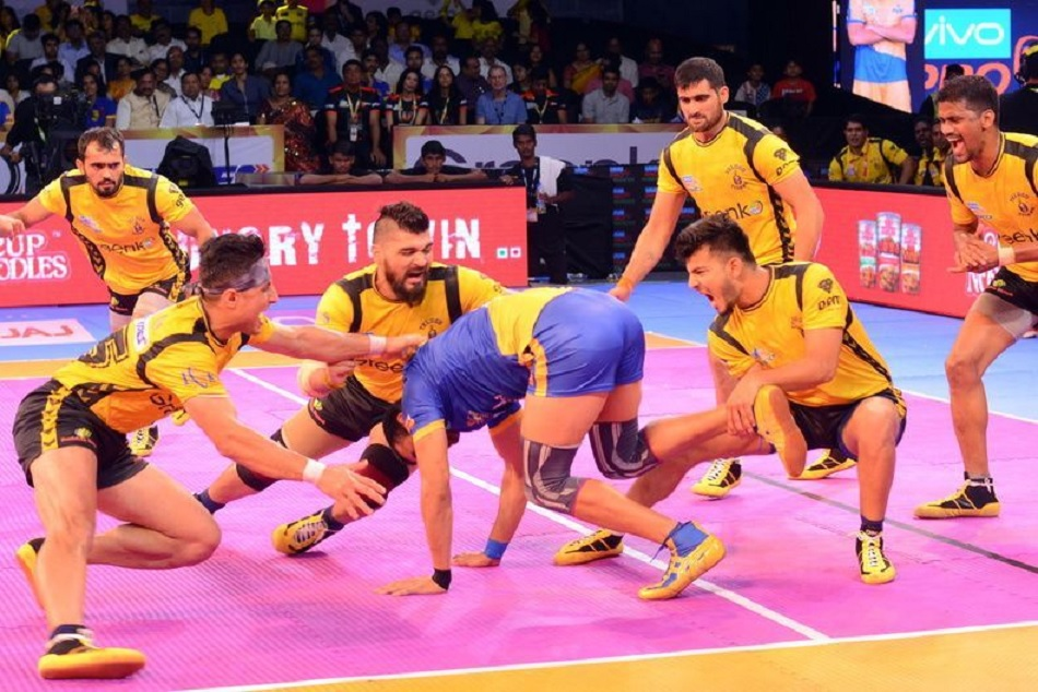Pro kabaddi league 2018: Puneri paltan offered close fight but telugu titans won the gama