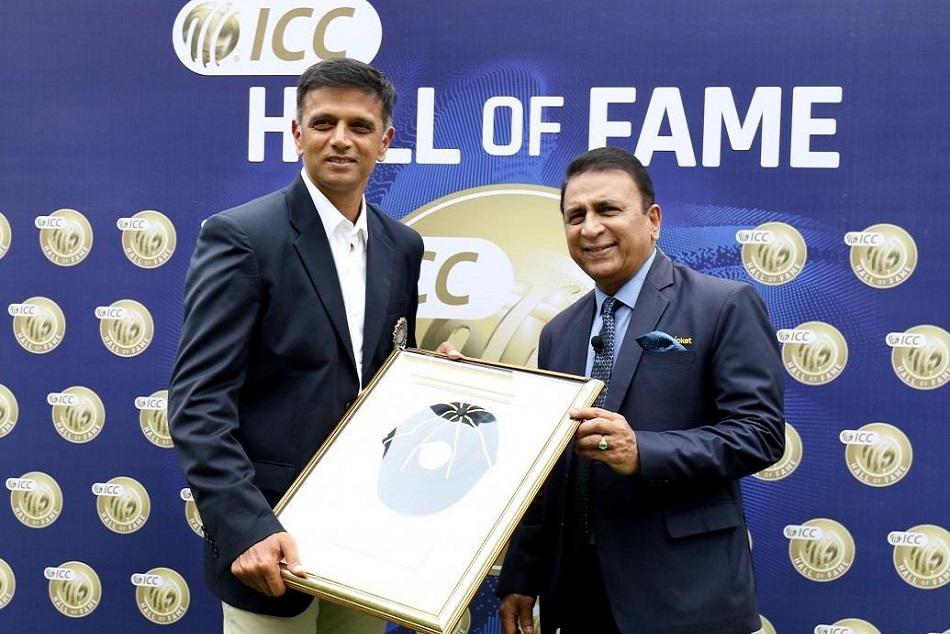Rahul Dravid Gets Icc Hall Fame Award