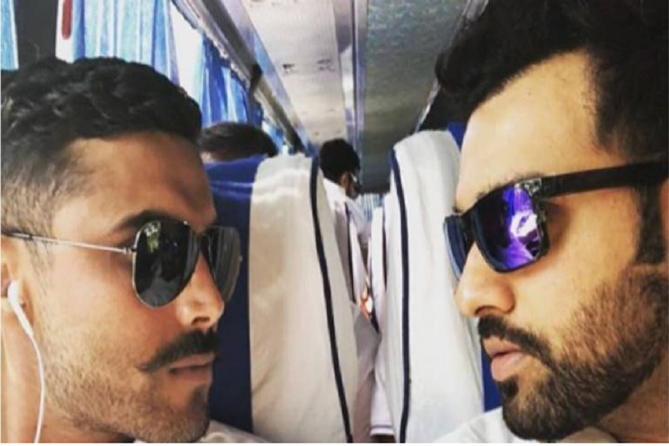 Rohit Sharma gives a royal welcome to Sir Ravindra Jadeja on Instagram