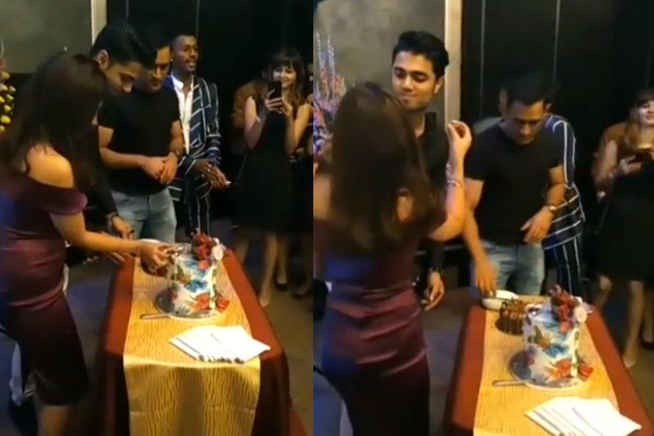 Hardik Pandya Is Caught During Smoking Sakshi Dhoni Birthday Party