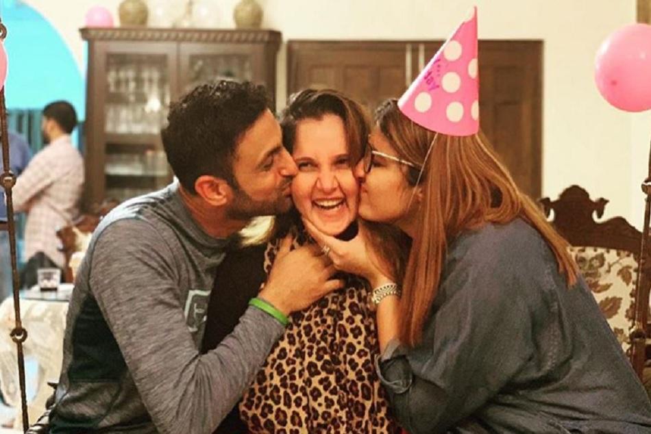 Shoiab Malik Shares Memorable Photos On The Occasion Sania Mirza Birthday