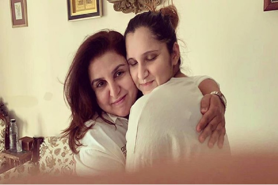 Farah Khan Meets With Sania Mirza Izhaan Post Picture On Socian Media