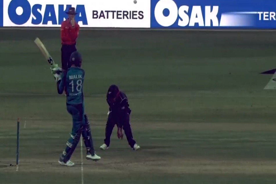 Video: Unlucky Shoaib Malik Gets Dismissed In Bizarre Fashion