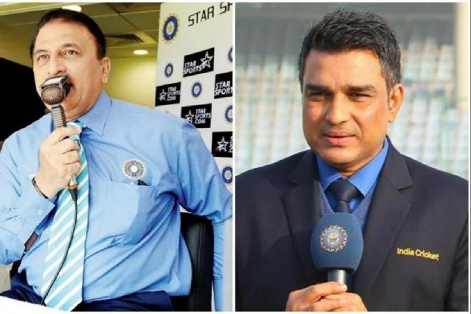 Sunil Gavaskar, Sanjay Manjrekar escape unhurt after glass door of commentary box shatters