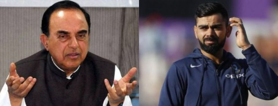 Dr Subramanian Swamy Bats For Virat Kohli In go Live Somewhere Else Controversy