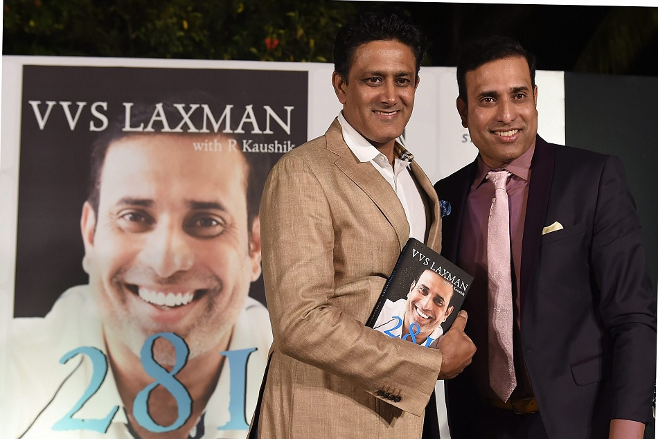 vvs laxman said we want to continue with the Anil kumble but he wanted to quit