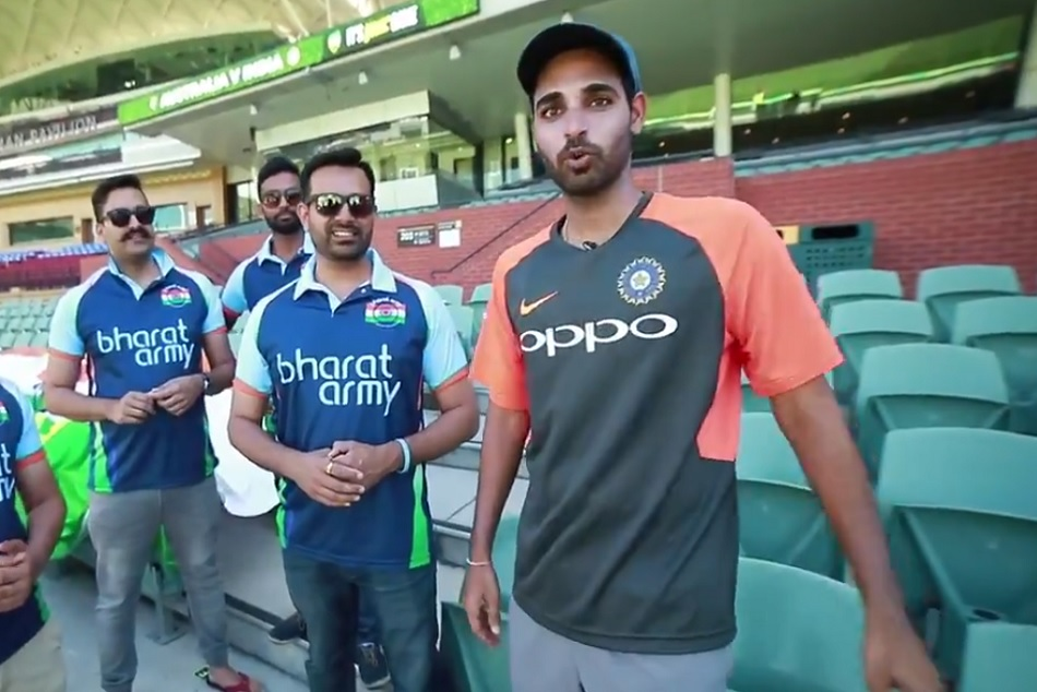 Bharat Army Song On Bhuvneshwar Kumar Has Gone Viral Prior First Adelaide Test