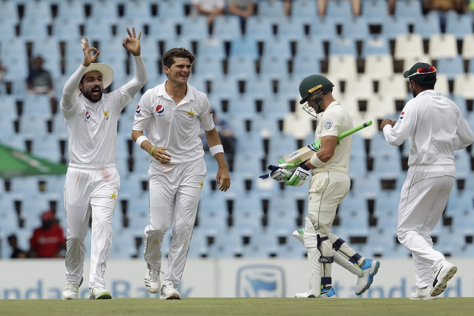 Faf du Plessis and Sarfraz Ahmed become first ever captains to record a pair in a Test match