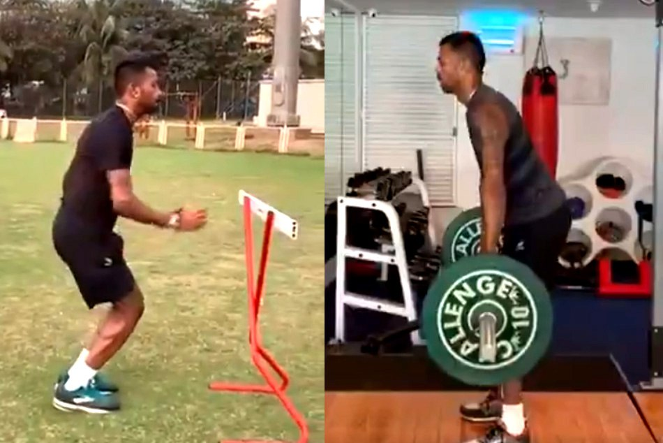 hardik pandya special workout revealed his preparation he might come back for last two test in australia