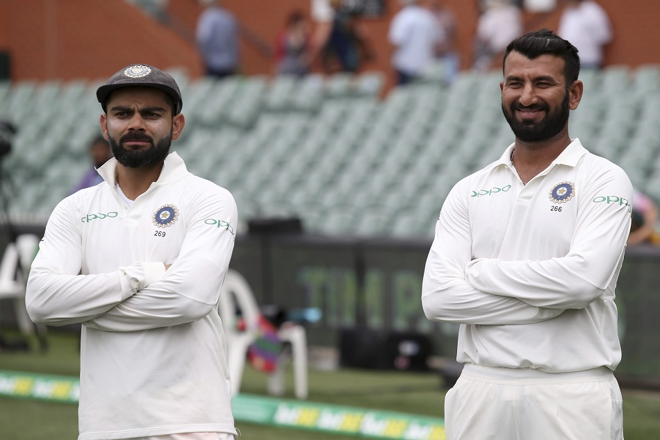 Virat kohli remains on top of latest icc test ranking, cheteshwar pujara on fourth place too