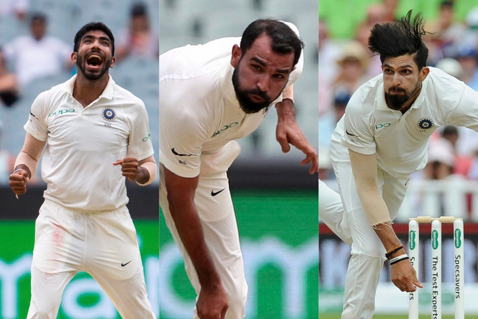 Jasprit Bumrah, Mohammed Shami, Ishant Sharma become the most lethal pace trio of 2018