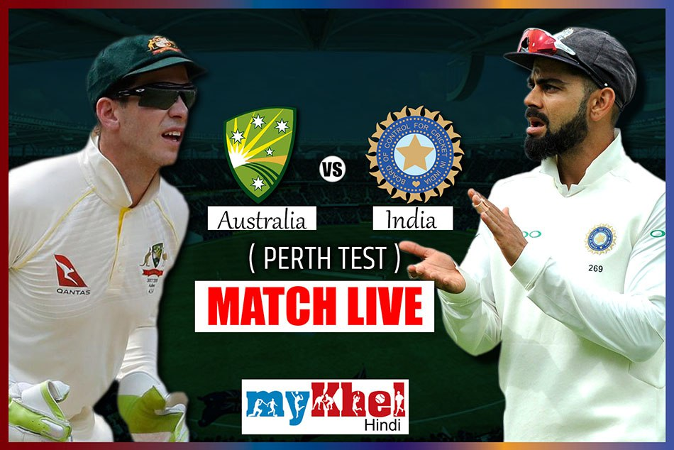 India Vs Australia 2nd Test Match Day 2 Live Commentary Live Updates Live Streaming