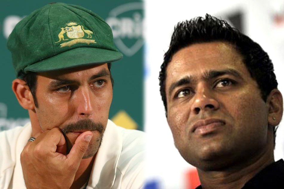 Aakash Chopra and Mitchell Johnson have a twitter war over the Perth pitch rating