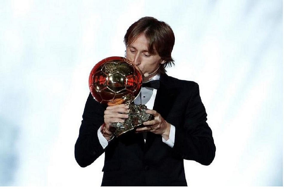 Luka Modric wins 2018 Ballon dOr