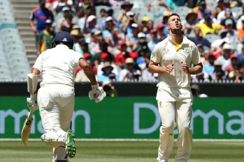 mitchell marsh is embarrassed by Australian spectator in boxing day test
